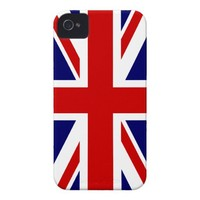 Union Jack iPhone 4 Case-Mate Case from Zazzle.com