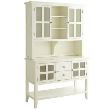 Ronan Hutch & Sideboard - Antique White