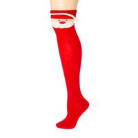 Santa Knee High Socks