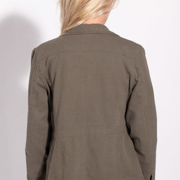 Joie Jatara B Jacket in New Army