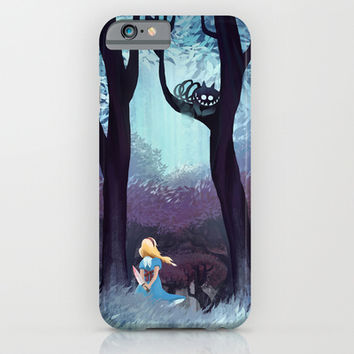 Alice in Wonderland iPhone & iPod Case by Youcoucou