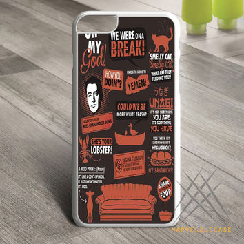 Friends TV Show Quotes Custom case for iPhone, iPod and iPad