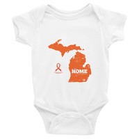 Michigan - Multiple Sclerosis Awareness Baby Onesuit