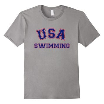 USA Swimming T-Shirt - Sports Training Summer 2016 Line