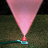 The Water And Light Show Sprinkler - Hammacher Schlemmer