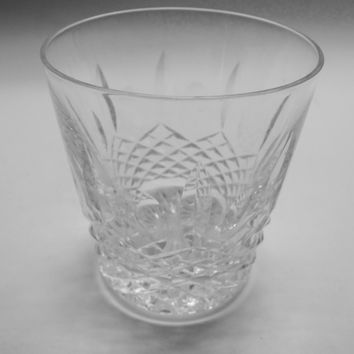 Signed Waterford Hand Cut glass KENMARE DOR