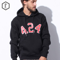 Winter Stylish Pullover Round-neck Long Sleeve Men Hoodies [8822223299]