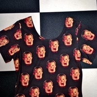 SWEET LORD O'MIGHTY! HOME ALONE CROP T