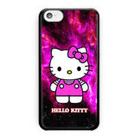 Hello Kitty Purple Galaxy Nebula iPhone 5C Case