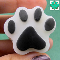 Paw Print Soap Bars - Set of 4 - Puppy Paws, Kitty Paws, Paw Patrol Soap, Dog Lover Gifts, Cat Lover Gifts, Bath Set, Snoopy Soap
