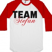 Team Stefan-Unisex White/Red T-Shirt