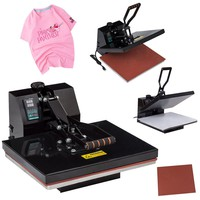"16"" X 20"" Digital Heat Press Machine Transfer Sublimation Clamshell for T Shirts"