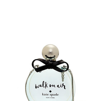 Kate Spade Walk On Air Clutch Clear/Silver ONE