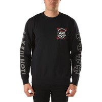 Vans x Independent Crew Sweatshirt (Black)