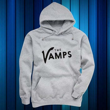 the vamps Hoodies Hoodie Sweatshirt Sweater gray and beauty variant color for Unisex size