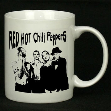 Red Hot Chili Peppers New For Ceramic Mugs Coffee *