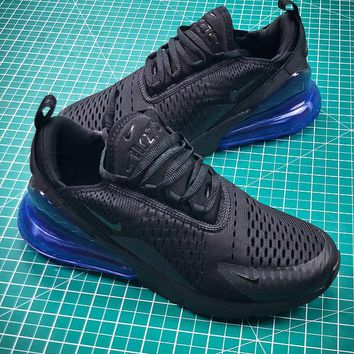 Nike Air Max 270 Photo Blue AH8050-009 Sport Running Shoes - Best Online Sale