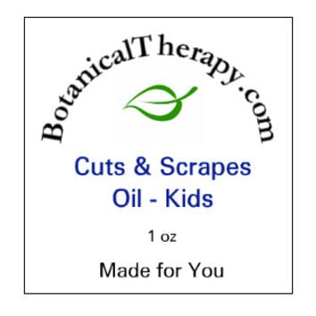 Cuts and Scrapes Oil - For Kids