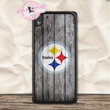 Pittsburgh Steelers American Football Case For Sony Xperia Z5 Z4 Z3 compact Z2 Z1 Z E4 T3 T2 SP M4 M2 C3 C