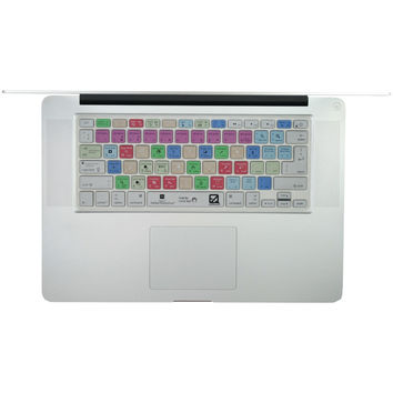 """Ezquest Macbook And 13"""" Macbook Air And Macbook Pro And Wireless Keyboard Usa And Iso Adobe Photoshop Keyboard Cover"""