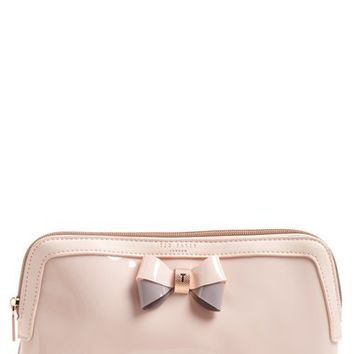 Ted Baker London 'Large Bow - Madlynn' Cosmetics Case | Nordstrom