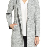 Kenneth Cole New York Jersey Knit Reefer Coat | Nordstrom