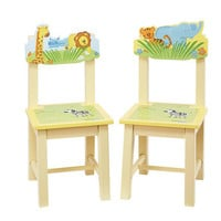 Guidecraft Savanna Smiles Extra Chairs (Set of 2) - G86803