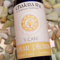 "Solar Plexus ""I Can"" Power Center 3rd Yellow Chakra Spray - Improve Your Confidence & Personal Power, Drive, Ambition, Get Your Mojo Back"