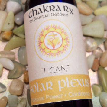 "Solar Plexus Chakra Spray ""I Can"" - Improve Your Confidence, Motivation & Get Your Mojo Back"
