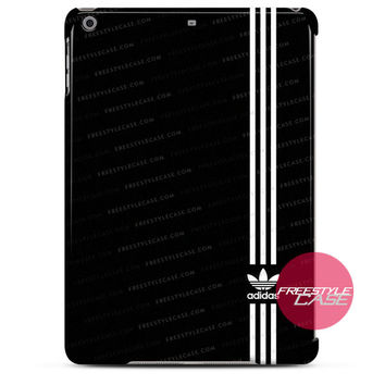 Adidas Logo Stripe Black White iPad Case 2, 3, 4, Air, Mini Cover