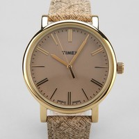 Timex Originals Champagne Watch - Urban Outfitters