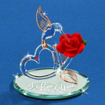 Glass Baron Hummingbird Of Love