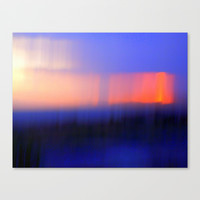 Abstract Sunset Stretched Canvas by Jan4insight