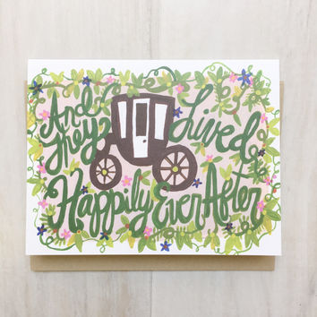 Thimblepress® Happily Ever After Card