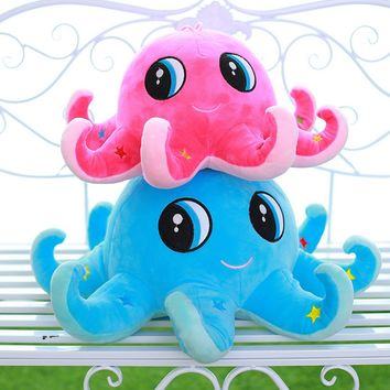 Cute Plush Toy Octopus Stuffed Animal Soft Plushies Doll Pillow 20cm/7.9''