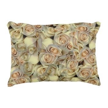 Primrose Floral Accent Pillow