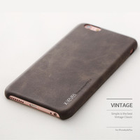 Free Shipping Luxury Vintage PU Leather Phone Case for iPhone 6 6s 6 Plus 6s Plus Back Cover Case for iPhone 7 7 Plus hoesje