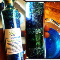 420 Buzzy Mermaid Sea Salt Soak