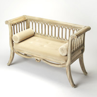 Masterpiece Saxon Driftwood English Settee