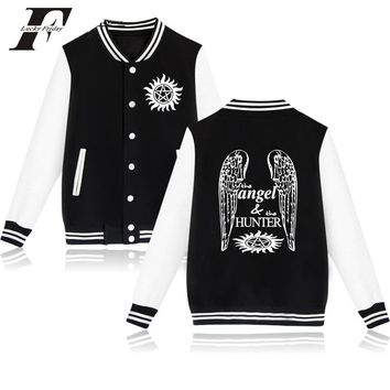 2017 Supernatural printed hoodie Winter Baseball Jacket bomber jacket men women tracksuit survetement  Jacket and coat