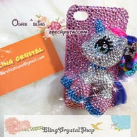 Czech /Swarovski crystal Bling Bling iphone 4S case by ZoeCrystal