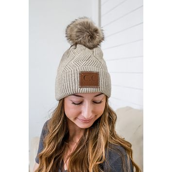 Warm Wishes Beanie - Oatmeal