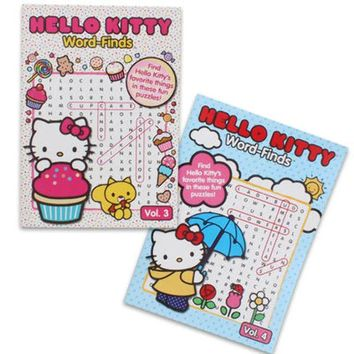 Hello Kitty Word Search Book - CASE OF 48
