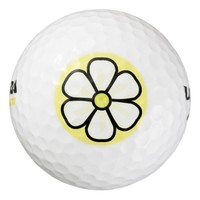 Flower Art Pack Of Golf Balls
