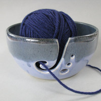 RESERVED FOR ALICE  Yarn Bowl / Knitting by CeramicsbyMarcelle