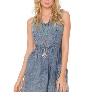 Kelley Denim Dress