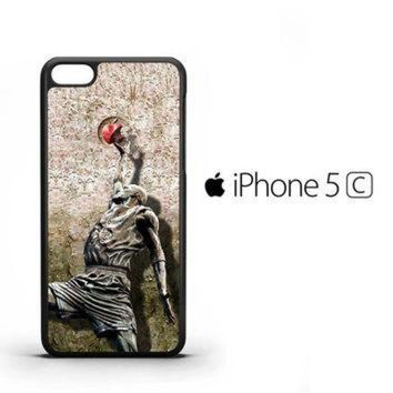 CREYUG7 Michael jordan slam dunk carbonite V0979 iPhone 5C Case