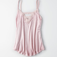 AE Soft & Sexy Lace Bar Front Tank, Pink