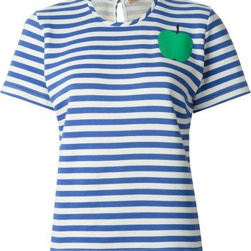 Peter Jensen horizontal stripe T-shirt