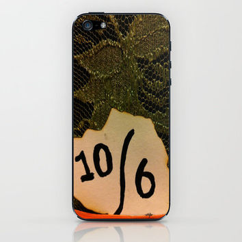 Mad Hatter Hat iPhone & iPod Skin by Rhiannon